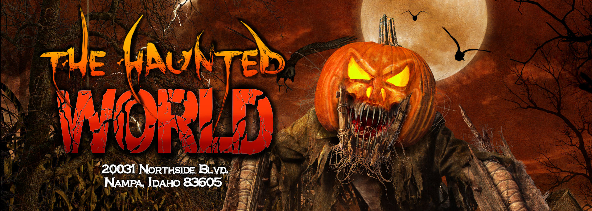 Idaho Haunted House - The Haunted World